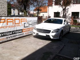 Chiptuning Mercedes-Benz CLS 350 CDI BlueEF