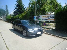 Chiptuning Mercedes-Benz E350 CDI