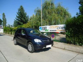 Chiptuning Mercedes-Benz ML 280 CDI