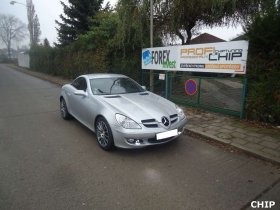 Chiptuning Mercedes-Benz SLK 200 Kompressor