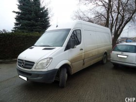 Chiptuning Mercedes-Benz Sprinter 311 CDI
