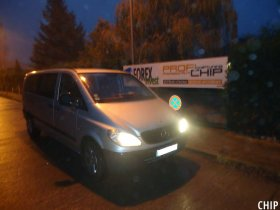 Chiptuning Mercedes-Benz Vito 115 CDI