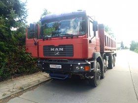 Chiptuning nákladního vozu MAN F2000 - F 2000, 301 kW