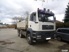Chiptuning nákladního vozu MAN TGA 26 430