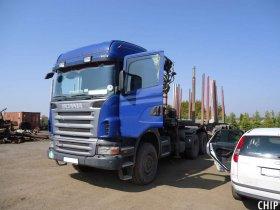 Chiptuning nákladního vozu Scania P420