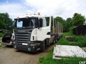 Chiptuning nákladního vozu Scania R420
