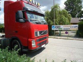 Chiptuning nákladního vozu Volvo FH 480