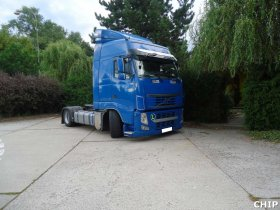 Chiptuning nákladního vozu Volvo FH13 440