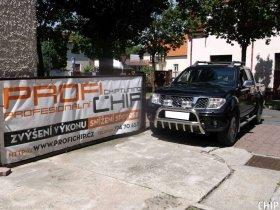 Chiptuning Nissan Navara 2.5 DCI