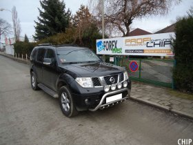 Chiptuning Nissan Pathfinder 2.5 DCI