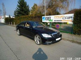 Chiptuning, odstranění DPF a deakt. EGR Mercedes-Benz S350 CDI 4matic