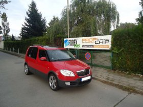 Chiptuning, odstranění DPF a deaktivace EGR Škoda Roomster 1.6 TDI CR