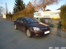 Chiptuning, odstranění DPF a deaktivace EGR Toyota Avensis 2.0 D-4D
