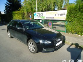 Chiptuning, odstranění DPF a deaktivace EGR ventilu Audi A4 2.0 TDI