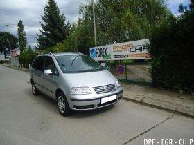 Chiptuning, odstranění DPF a deaktivace EGR ventilu VW Sharan II 2.0 TDI-PD