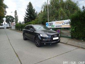 Chiptuning, odstranění DPF a deaktivace EGR ventilu Audi Q7 3.0 TDI