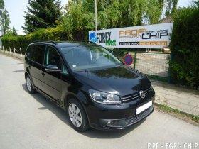 Chiptuning, odstranění DPF a deaktivace EGR VW Touran 1.6 TDI-CR