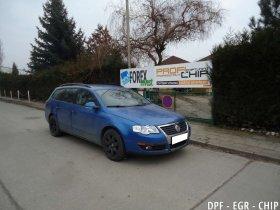 Chiptuning, odstranění DPF a deaktivace EGR VW Passat B6 2.0 TDI-PD