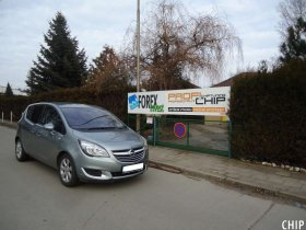Chiptuning Opel Meriva 1.4 Ecotec