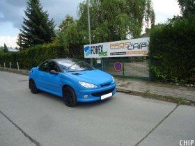 Chiptuning Peugeot 206cc 2.0i