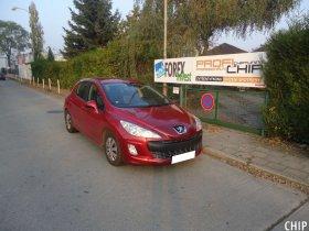 Chiptuning Peugeot 308 1.6 HDI