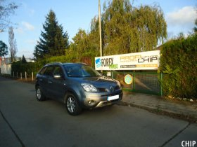 Chiptuning Renault Koleos 2.0 DCI
