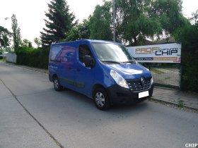 Chiptuning Renault Master 2.3 DCI
