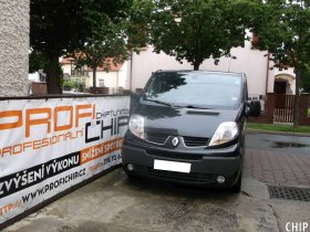 Chiptuning Renault Trafic 2.5 DCI