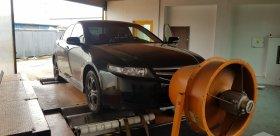 Chiptuning s měření výkonu Honda Accord - 2.2 CDTi, 103 kW