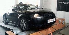 Chiptuning s měřením výkonu vozu Audi TT - 1.8 Turbo, 110 kW