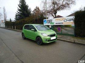 Chiptuning Škoda Citigo 1.0i LPG