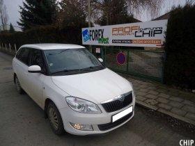 Chiptuning Škoda Fabia 1.6 TDI-CR