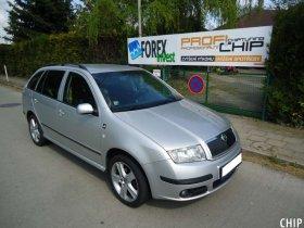 Chiptuning Škoda Fabia 1.9 TDI-PD