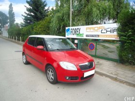 Chiptuning Škoda Fabia II 1.2 HTP LPG