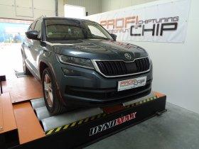 Chiptuning Škoda Kodiaq 2.0 TDI -CR