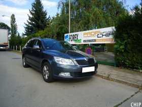 Chiptuning Škoda Octavia II 1.6 TDI-CR