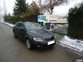 Chiptuning Škoda Octavia III 1.6 TDI-CR