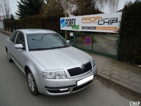 Chiptuning Škoda Superb 1.9 TDI-PD