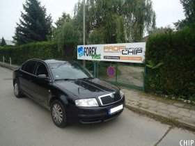 Chiptuning Škoda Superb 1.9 TDI