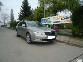 Chiptuning Škoda Superb 3.6 FSI
