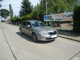 Chiptuning Škoda Superb II 1.6 TDI-CR