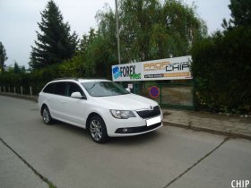 Chiptuning Škoda Superb II 2.0 TDI-CR