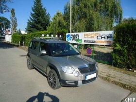 Chiptuning Škoda Yeti 1.8 TSI