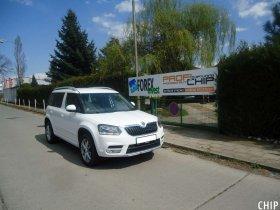 Chiptuning Škoda Yeti 2.0 TDI-CR