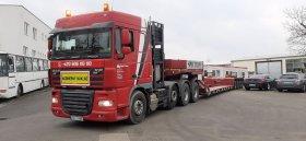 Chiptuning speciálního nákladního vozu nadměrných rozměru Daf XF 105.510