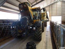 Chiptuning traktoru JCB 3200