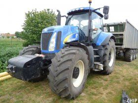 Chiptuning traktoru New Holland T8020