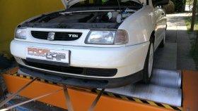 Chiptuning včetně měření na válcové zkušebně vozu Seat Ibiza 1.9 TDI - 66 kW