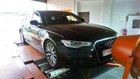 Chiptuning včetně měření na válcové zkušebně vozu Audi A6 3.0 Bi-TDI