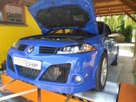 Chiptuning včetně měření na válcové zkušebně vozu Renault Megane -Sport 2.0 T - 165 kW